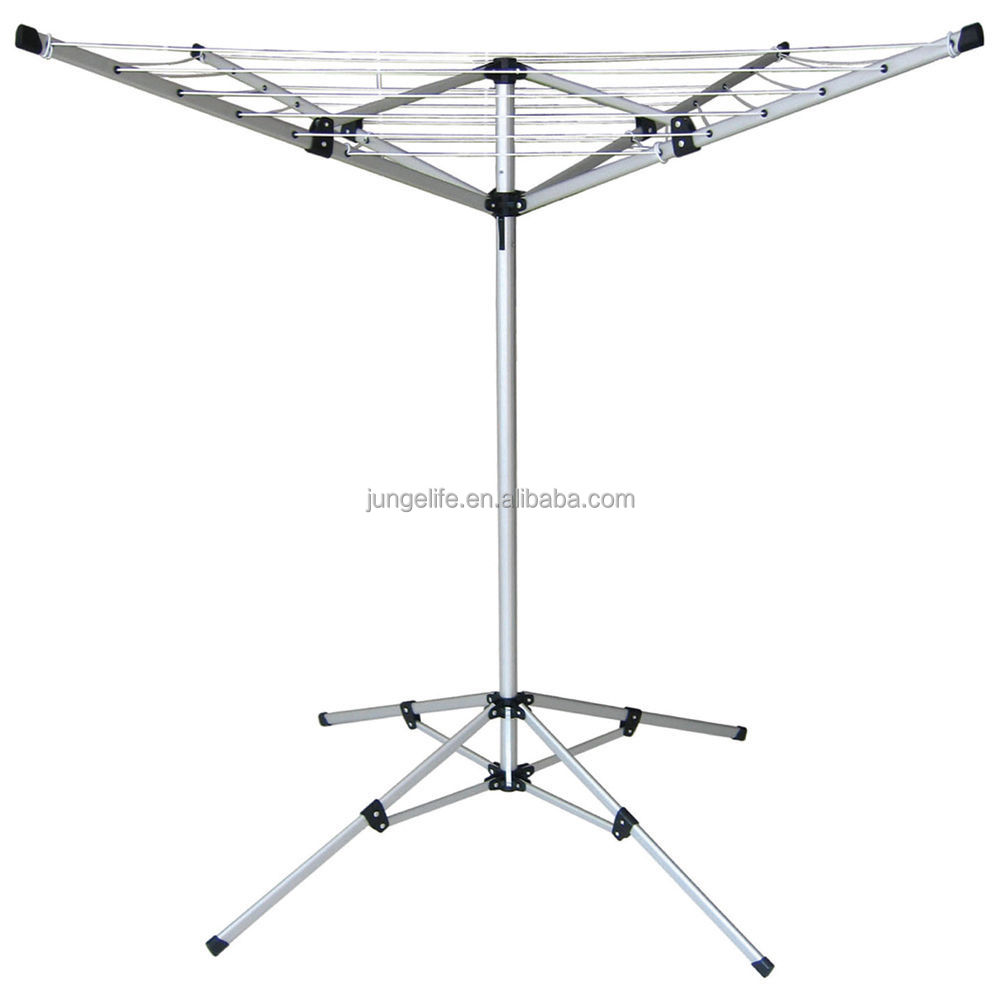 4 arm aluminum clothes airer