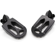 Dirt bike foot pegs for YAMAHA brand 57mm wide black color aluminum alloy racing part