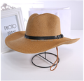 Promotional 2017 New Design Unisex Cowboy Sun Hat - Stylish Sun Protection made in China