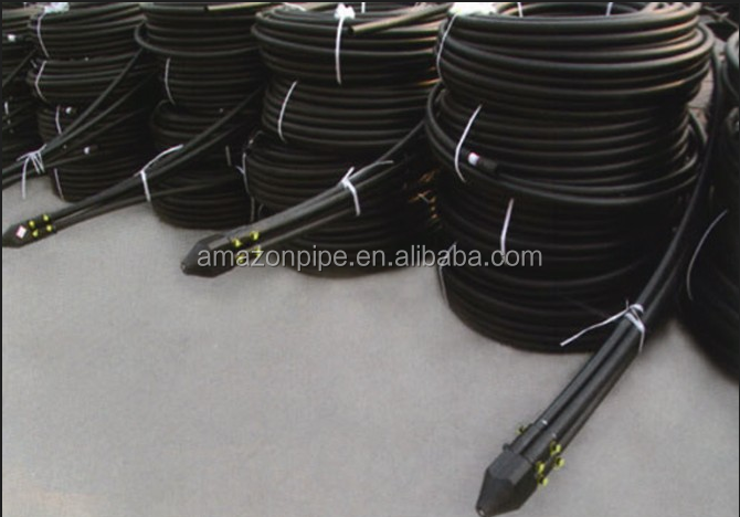 Factory price Flexible 40mm PE pipe ground source heat pump