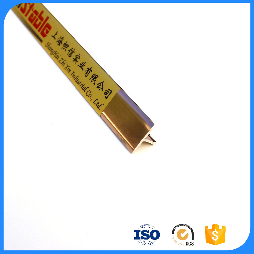 Aluminium Listello Trim Strip Dividing Tile Trim
