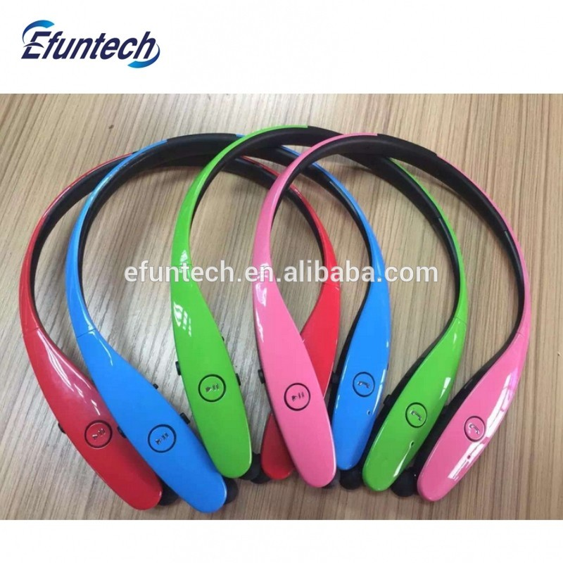 Hot selling CSR4.0 stereo bluetooth headphones wireless for iphone 7