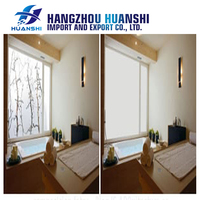 Switchable electric self adhesive smart film magic glass