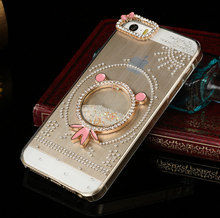2015 cheap Case For Iphone5/5s iphone4/4s Diamond Jewel Phone Protect Cover Fashion Plastic Phone Shell 2015 Hot Selling