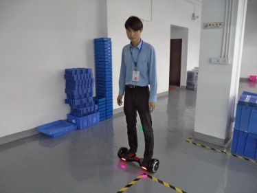 Testing (Self-Balancing Scooter)