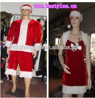 Walson xxxxl fancy dress wholesale Christmas snowman costume new styles women and men Lingerie