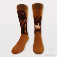 The Dog Series Dachshund Crew Socks / Women Crew Socks