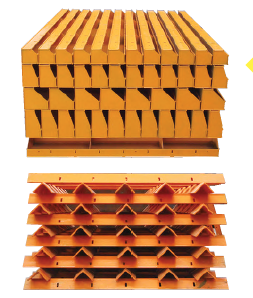 Heavy Duty Modular Steel Frame Adjustable Column Formwork With Plywood For Concrete Slab