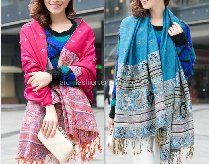 11 colours options cheap best-selling tribal nepal cotton voile stole shawl and scarf