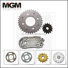 Motorcycle chain sprocket manufacture, bajaj pulsar 180 parts