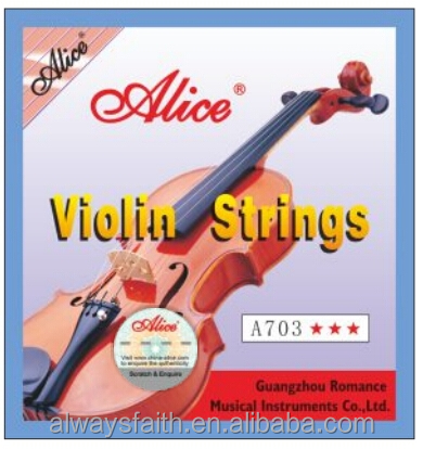 Wholesales professional high quality Alice violin strings
