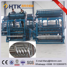 Hinge Joint Type Automatic Farm Fence Machine , use for make grass land fence