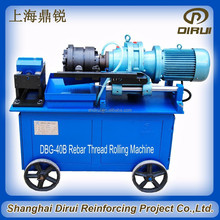 pricing steel pipe threading machine top quality steel pipe thread rolling machine DBG-40B