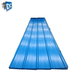 Hengze Steel Manufacturer Cold Rolled Steel Color Coating Hot Dipped Galvanized Corrugated Steel Roofing Sheets