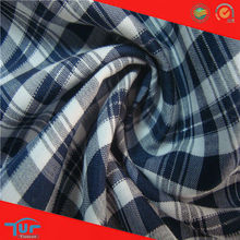 Fashion Italian Cotton Shirting Fabric Wholesale Plaid Shirt Fabric