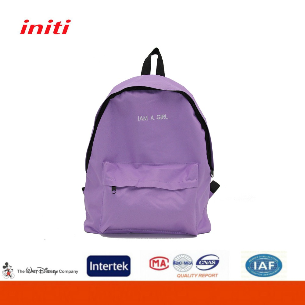 600D Factory Customized School Backpacks for Teens Backpack