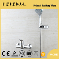 Bathroom wall mounted Concealed Bathroom Shower Faucet Set made in yuhuan