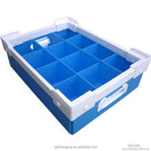 high quality cheap pp plastic handles corrugated boxes