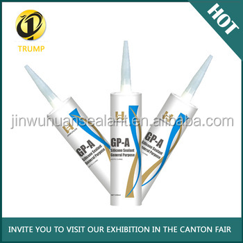 general purpose silicone sealant/adhesive for glazing aluminum window door glass factory supply