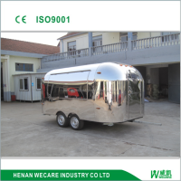 factory price. snack customized mobile stainless steel food wagon