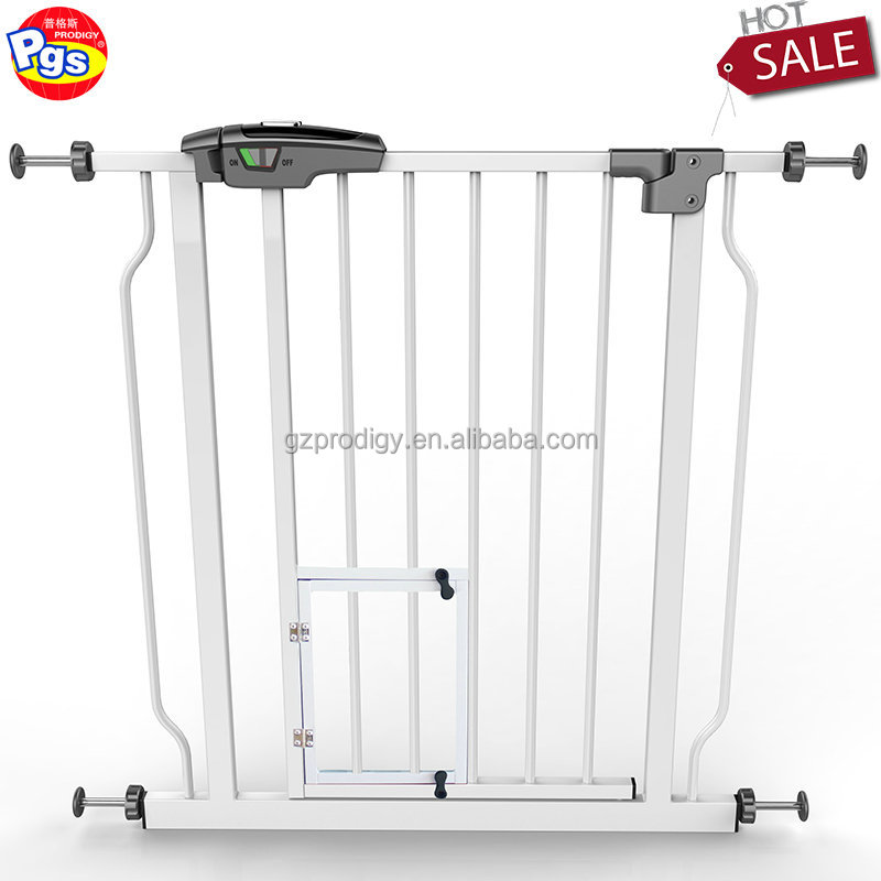 Auto close pet friendly baby gate/ baby pet dog safety gate
