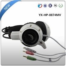 Stylish Unique colorful dazzle Over Ear Headphones light Gaming Headsets for computer games