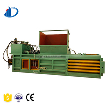Scrap Hydraulic Hard Pet Plastic Film Waste Bottle Press Bag Recycling Baler Machine