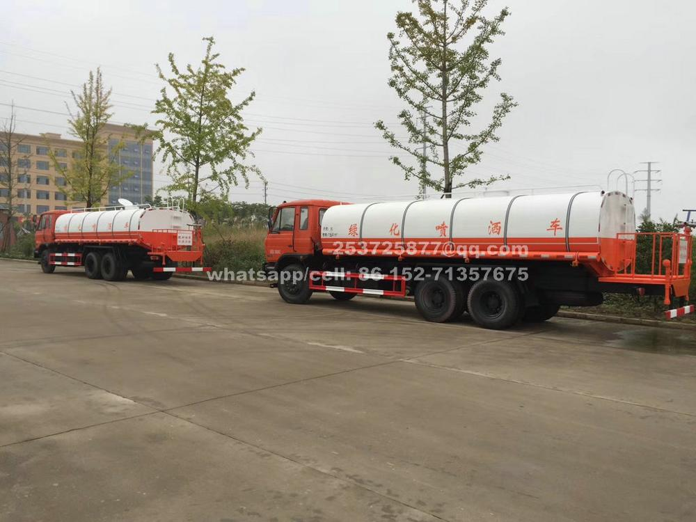 China Dongfeng 18m3-20m3 water tanker truck LHD/RHD Euro 3/4/5 cell: 8615271357675