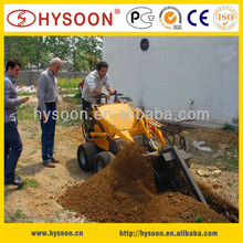 HYSOON 4wd China mini trench digger