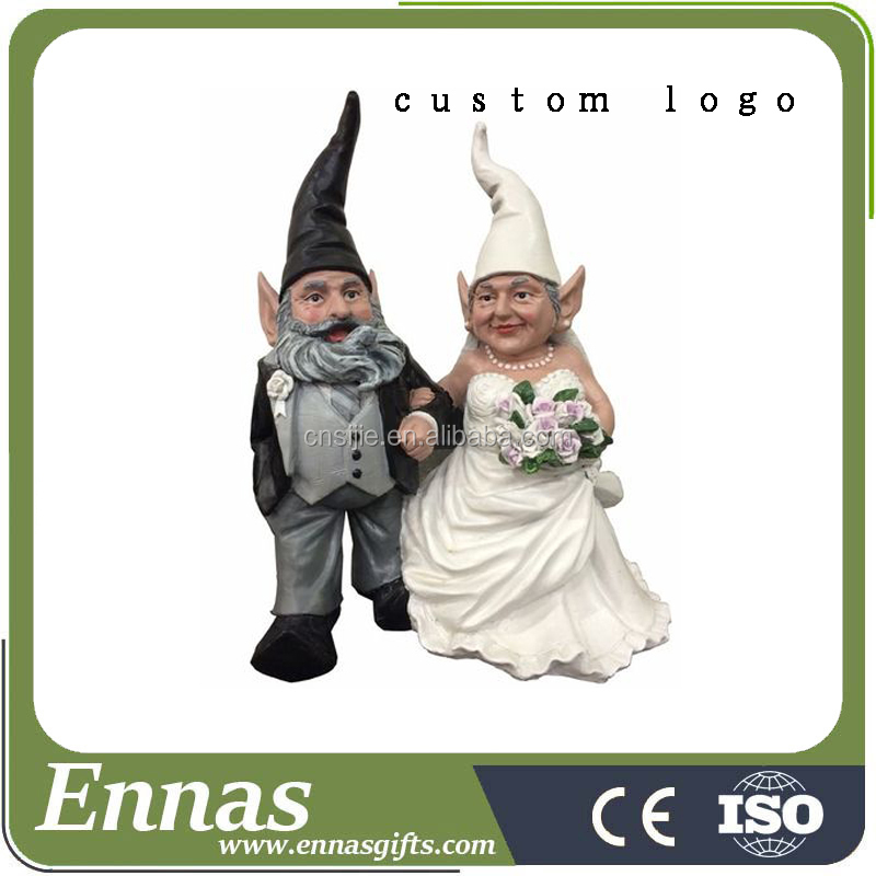 Wholesale garden decoration gnome resin gnome statues