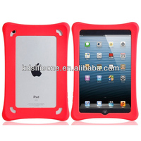 "Bone Shaped Silicone Frame for ipad min2/rugged silicone tablet case washable/drop resistant silicone 7"" cover for iPad Mini2"