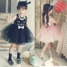Kids New Model Fashion Show Beautiful Sleeveless Tutu Dresses