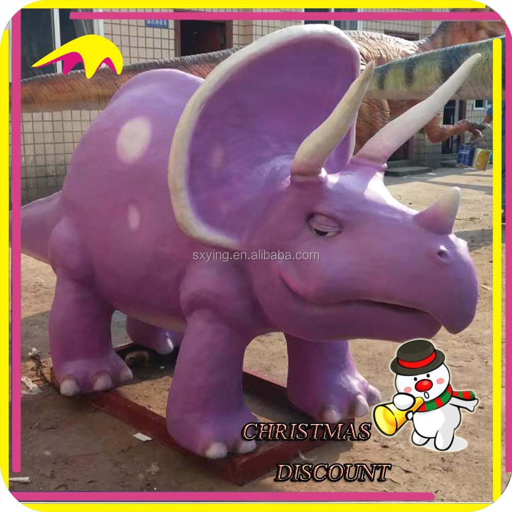 KANO1234 Kids Attraction Animated Interactive Cartoon Dinosaur Model