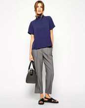 Peg Trousers with Pleats