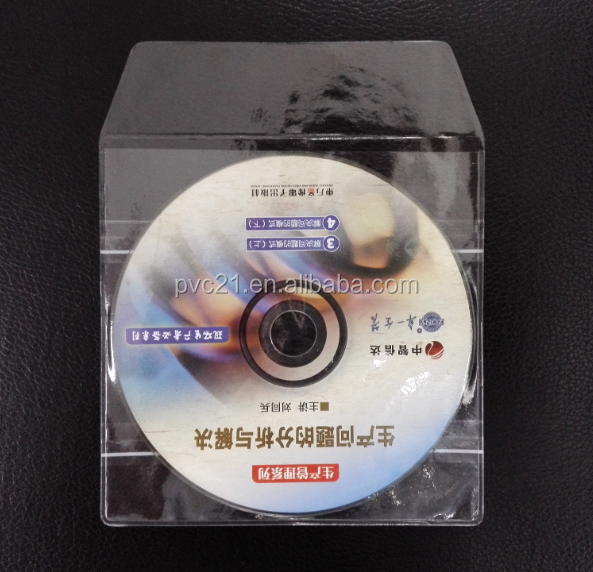 cheap plastic pvc cd cover with high quality