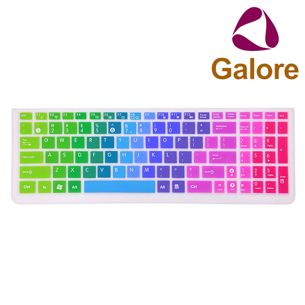 Silicone Rainbow Laptop 11 Inches Keyboard Cover For Macbook Thai