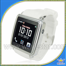 Anti-lost 1.54 inch GSM Quad Band Touch Watch Mobile Phone with Smart Bluetooth and Camera