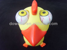 POP out bird vinyl toy/PVC cartoon figure toys/OEM animal vinyl toys
