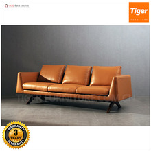 New home modern furniture living room leather sofa set designs