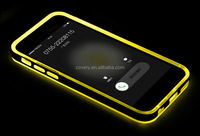 Rock Dazzling Incoming call flash light case for apple iphone6