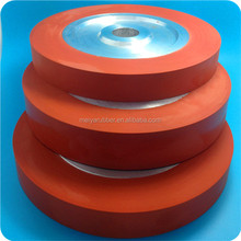 Hot stamping ink aluminum core silicone rubber roller