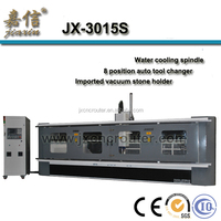 JX-3015S low price CNC3015S granite cutting and polishing machine with auto lubrication system