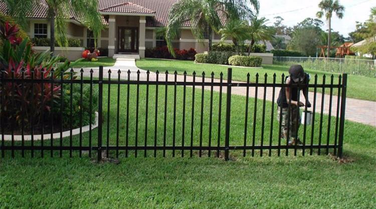 wholesale price garden wrought iron fencing panels buy. Black Bedroom Furniture Sets. Home Design Ideas