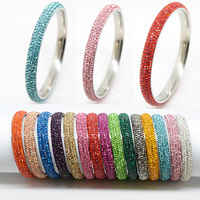5 Rows Fashion High Quality Crystal