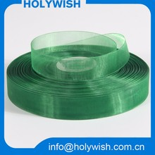 Custom transparent chiffon organza ribbon for making decoration flowers