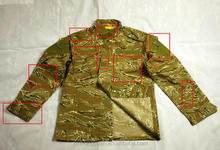 custom ACU tiger stripe desert camouflage military tactical combat uniforms
