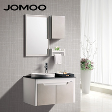 JOMOO Factory Price PVC Bathroom Cabinet Bath Vanity Designs