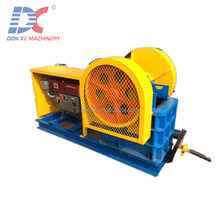 Henan 150x250 jaw crusher machine price/small mobile Jaw crusher with steel frame and ladder