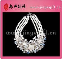 Sunysh Hot Sell Bijoux Bride Luxurious Necklace
