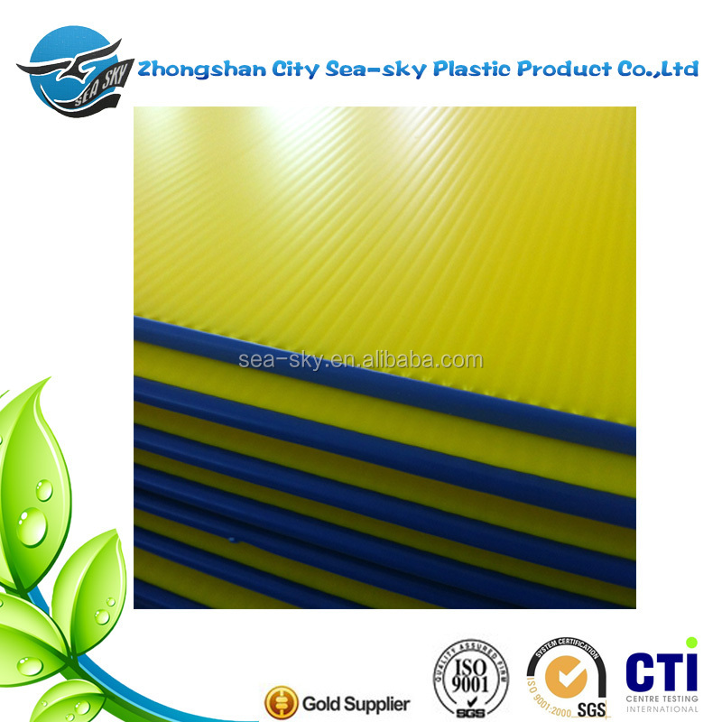 New 2017 3-5mm pp Corrugated Sheet Plastic Board